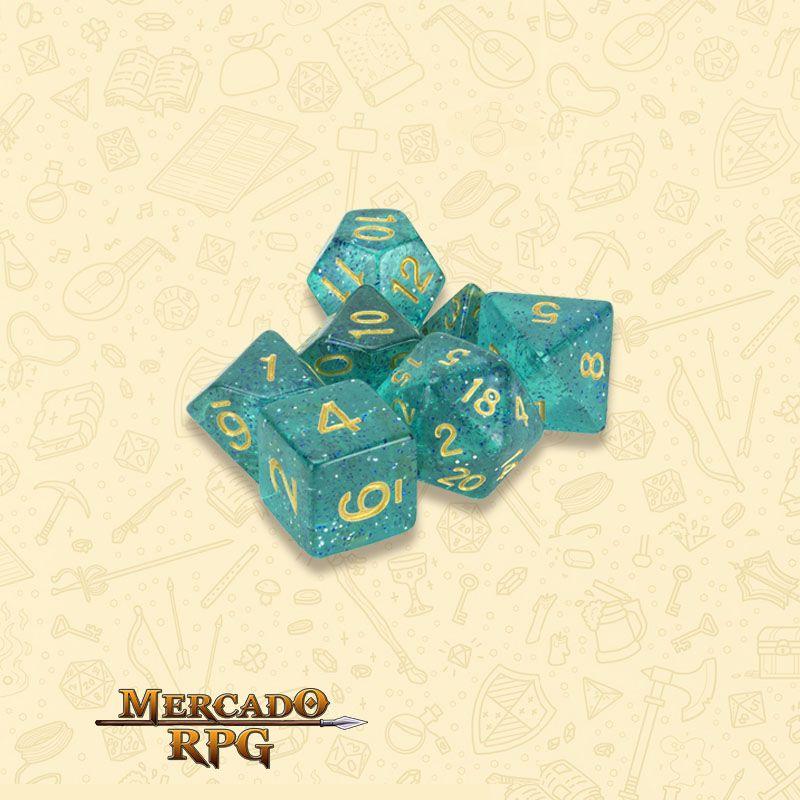 Kit Completo de Dados RPG - Celestial Sea