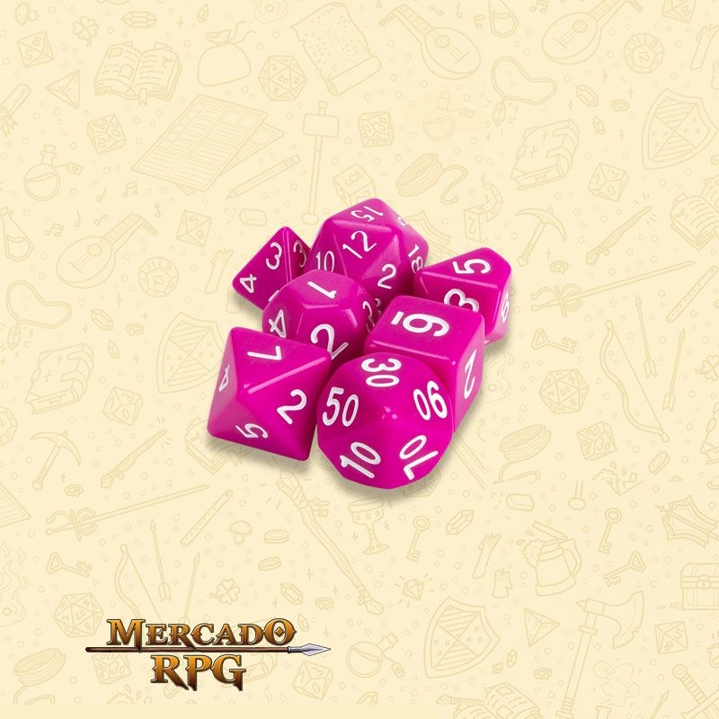 Kit Completo de Dados RPG - Dragon Berry