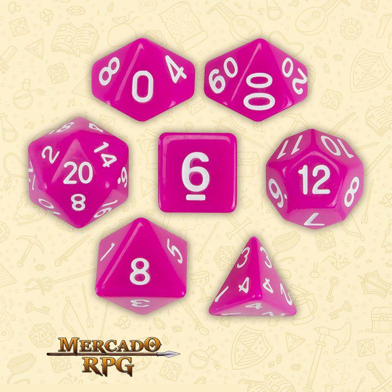 Kit Completo de Dados RPG - Dragon Berry  - Mercado RPG