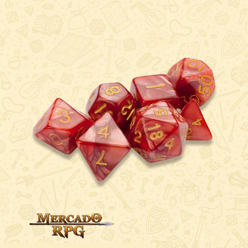 Kit Completo de Dados RPG - Dragon Scales
