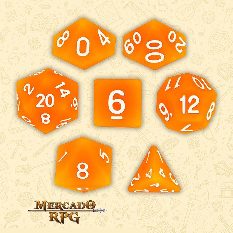 Kit Completo de Dados RPG - Forge Embers  - Mercado RPG
