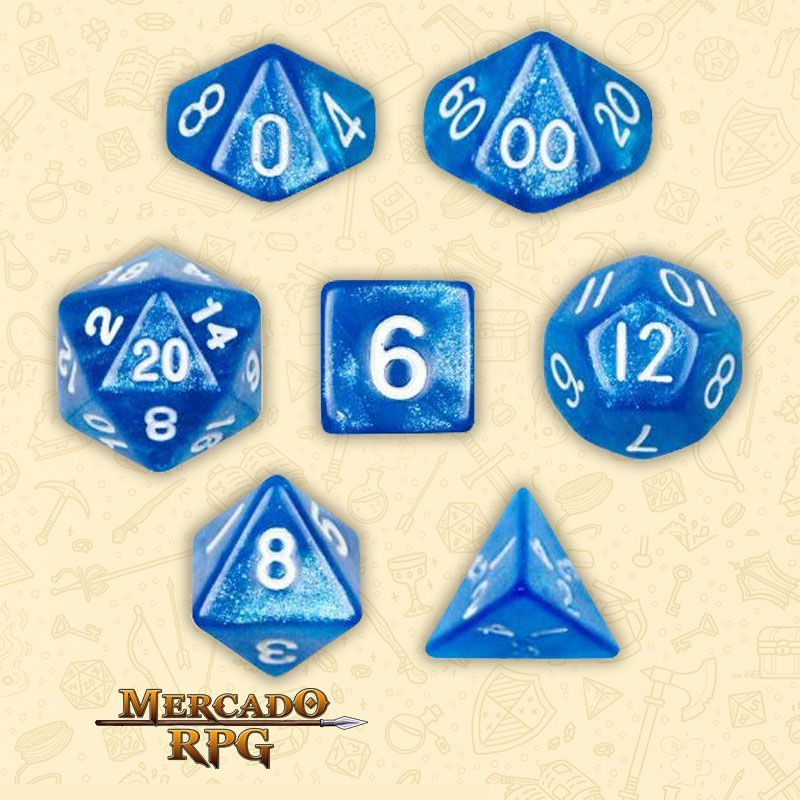 Kit Completo de Dados RPG - Horizon  - Mercado RPG