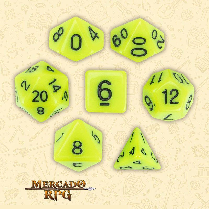 Kit Completo de Dados RPG - Stick Ichor  - Mercado RPG