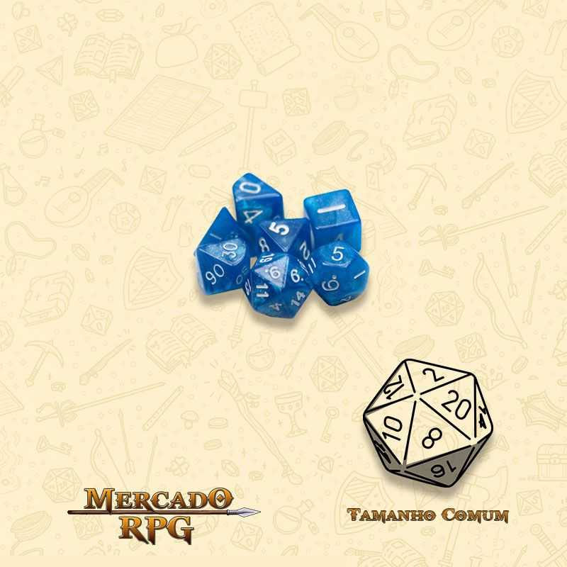 Kit Completo de Mini Dados RPG - Horizon