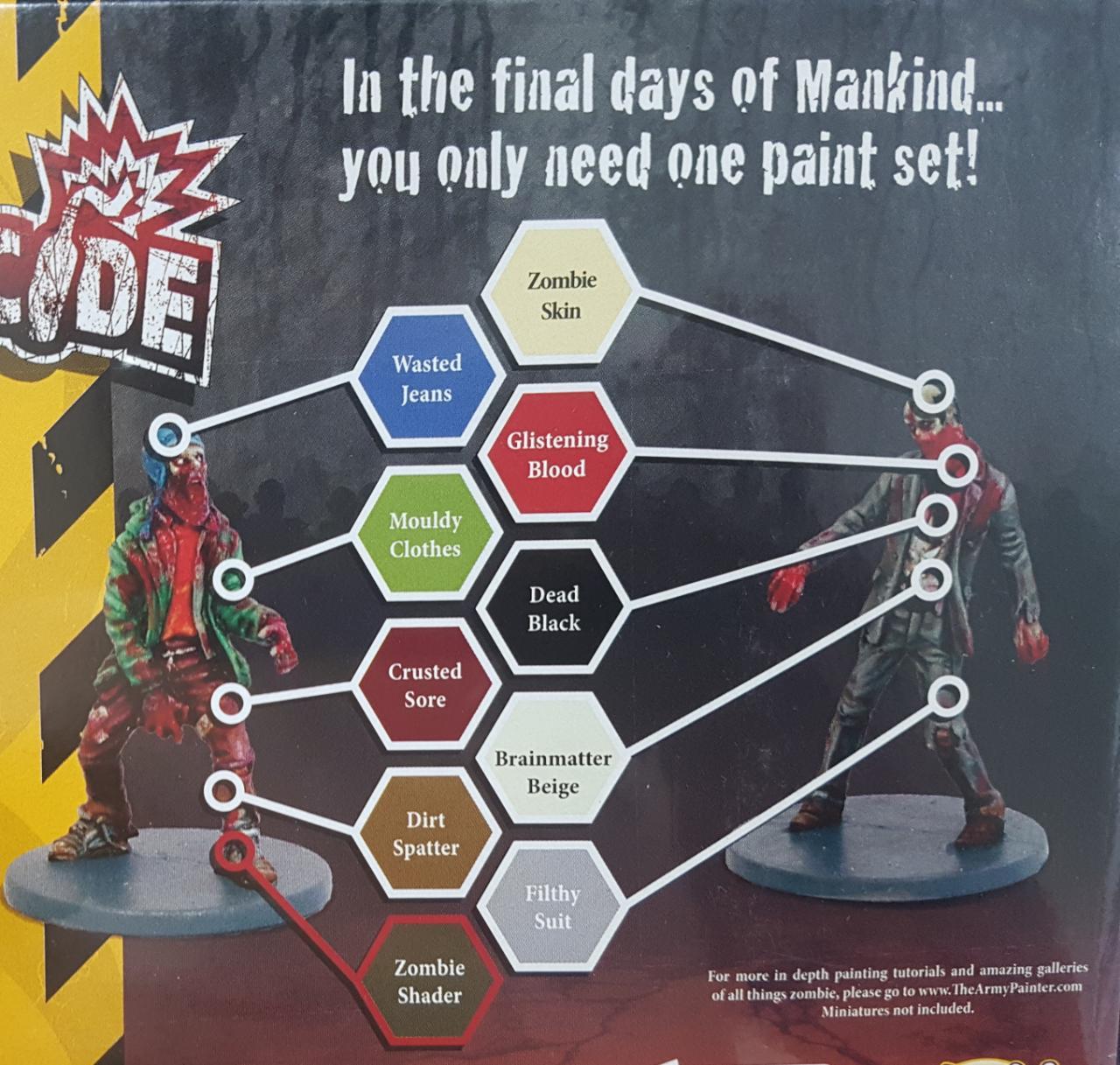 Kit de Tintas Army Painter  - Mercado RPG