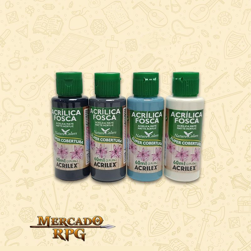 KIT de Tintas NMM - Non Metallic Metal - RPG