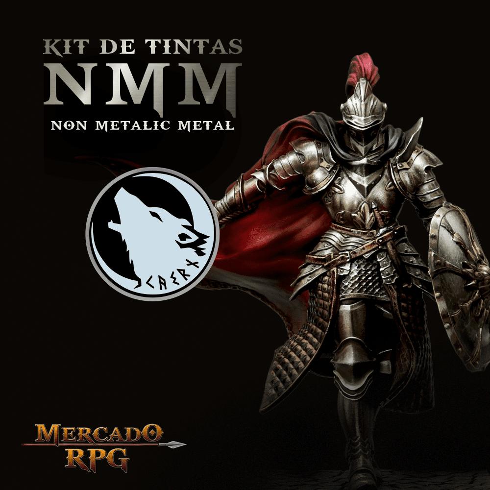 Kit de Tintas NMM - Non Metallic Metal - RPG