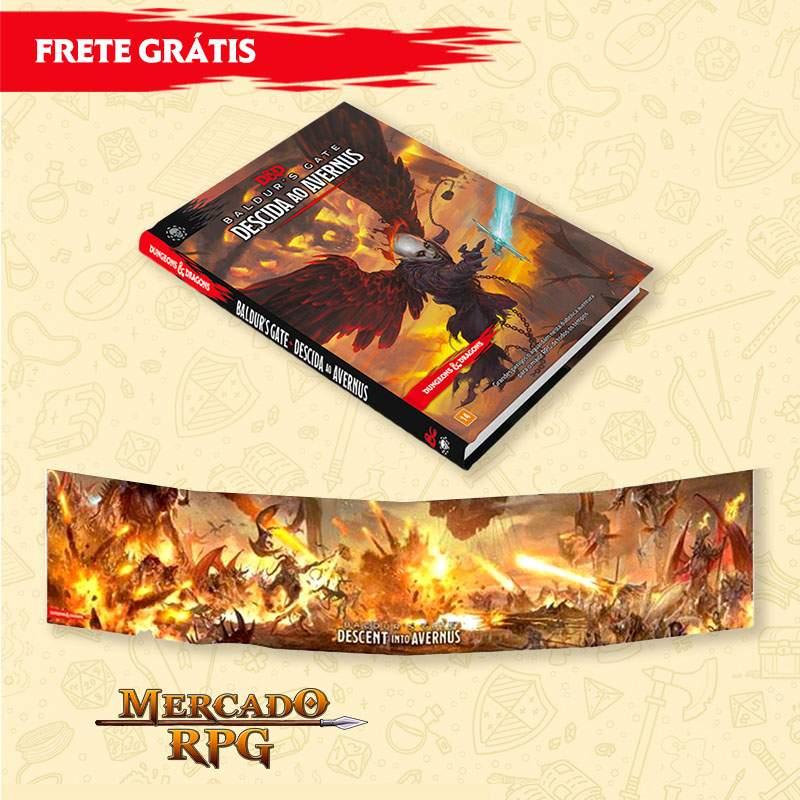 PRÉ-VENDA - KIT D&D 5e - Descida ao Avernus + Escudo do Mestre - Edição em português