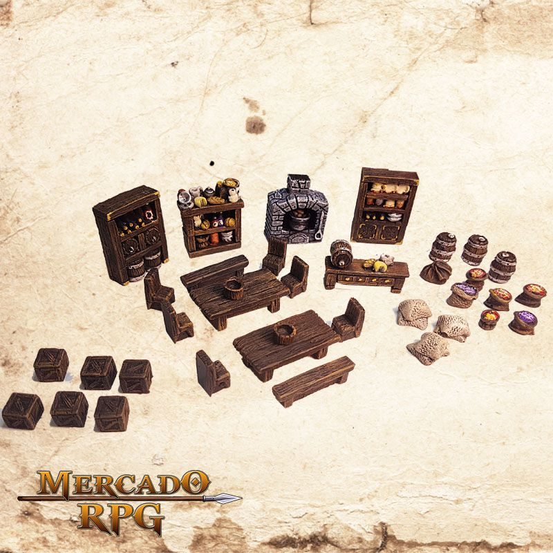 Kit Despensa   - Mercado RPG