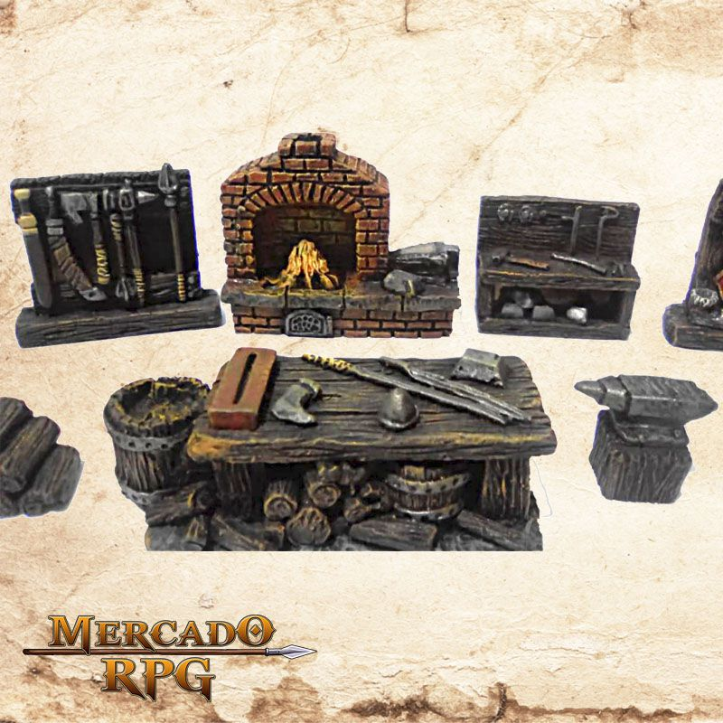 Kit Ferreiro  - Mercado RPG