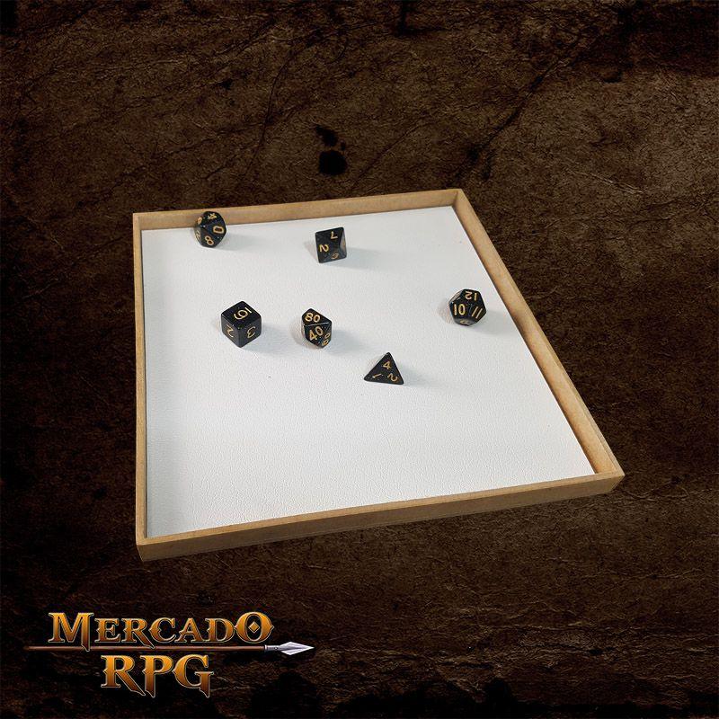 Kit Grid Riscável Modular (Com Caixa / Bandeja de dados)  - Mercado RPG