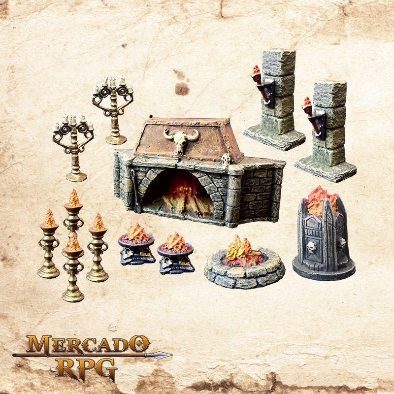Kit Iluminação  - Mercado RPG