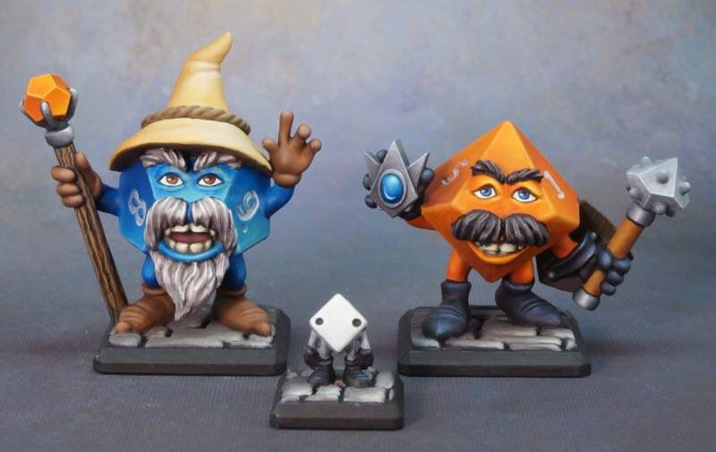 Kit Miniaturas Dices Adventures - Miniatura RPG  - Mercado RPG