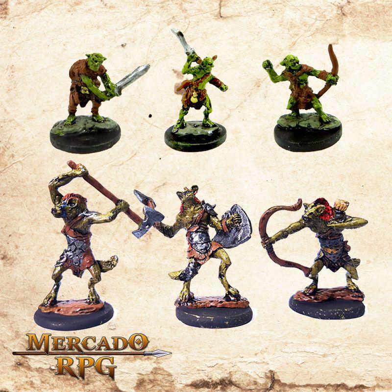 Kit Monstros A   - Mercado RPG