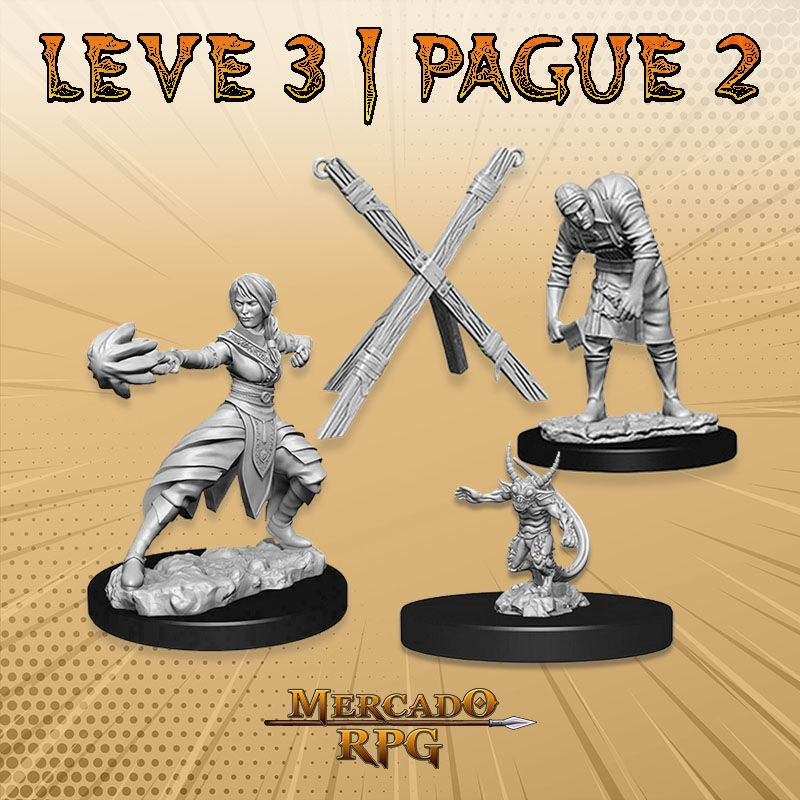 KIT PROMOCIONAL B - LEVE 3 PAGUE 2 - Miniatura RPG