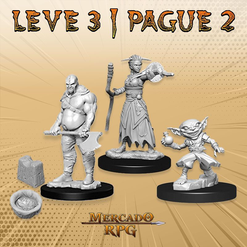 KIT PROMOCIONAL C - LEVE 3 PAGUE 2 - Miniatura RPG