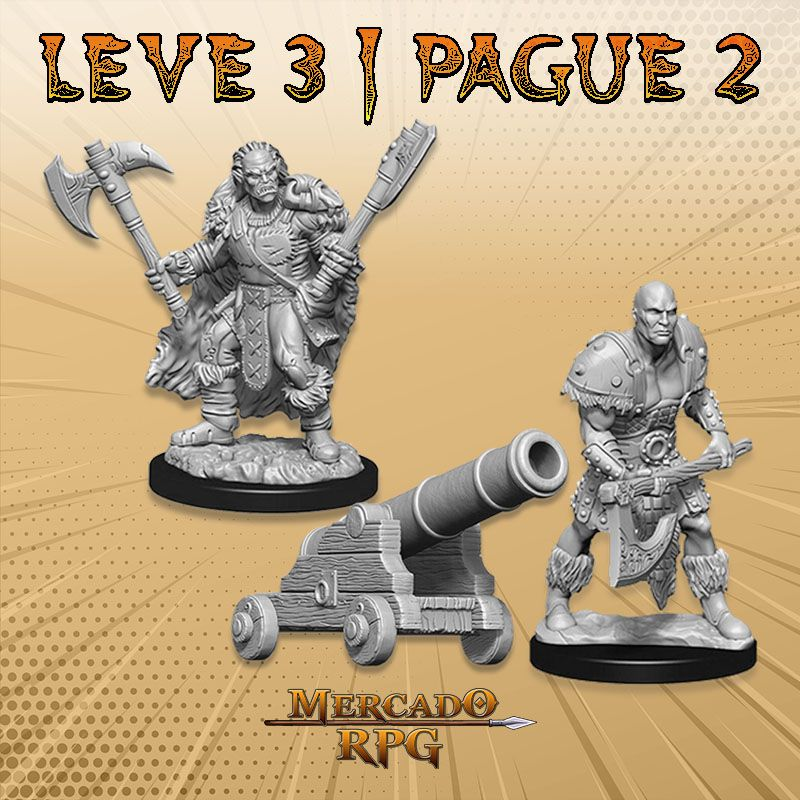 KIT PROMOCIONAL D - LEVE 3 PAGUE 2 - Miniatura RPG