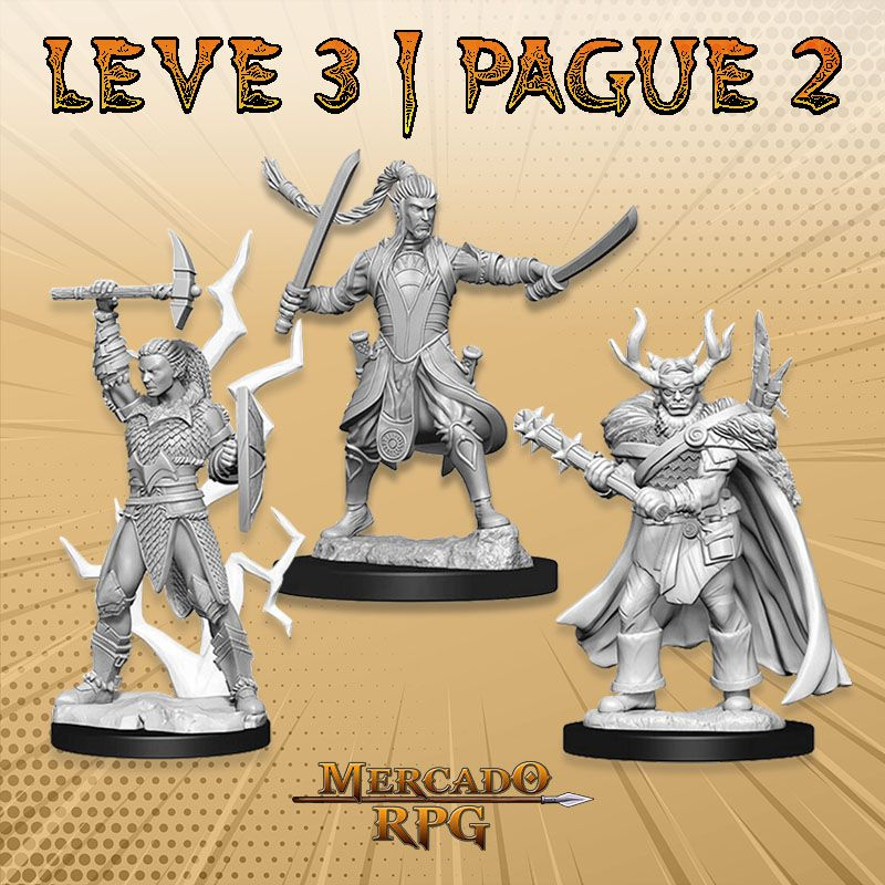 KIT PROMOCIONAL H - LEVE 3 PAGUE 2 - Miniatura RPG