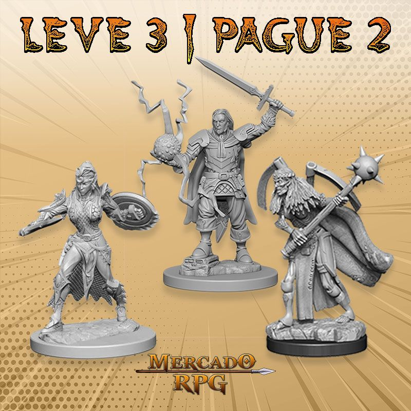 KIT PROMOCIONAL L - LEVE 3 PAGUE 2 - Miniatura RPG