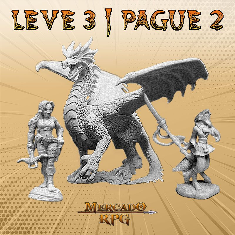 KIT PROMOCIONAL N - LEVE 3 PAGUE 2 - Miniatura RPG