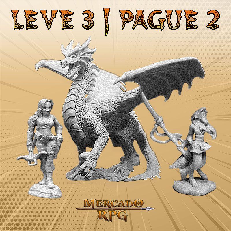 KIT PROMOCIONAL N - LEVE 3 PAGUE 2 - Miniatura RPG  - Mercado RPG