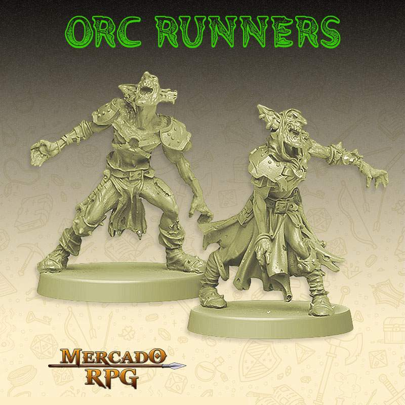 KIT Promocional - Orc Runner's