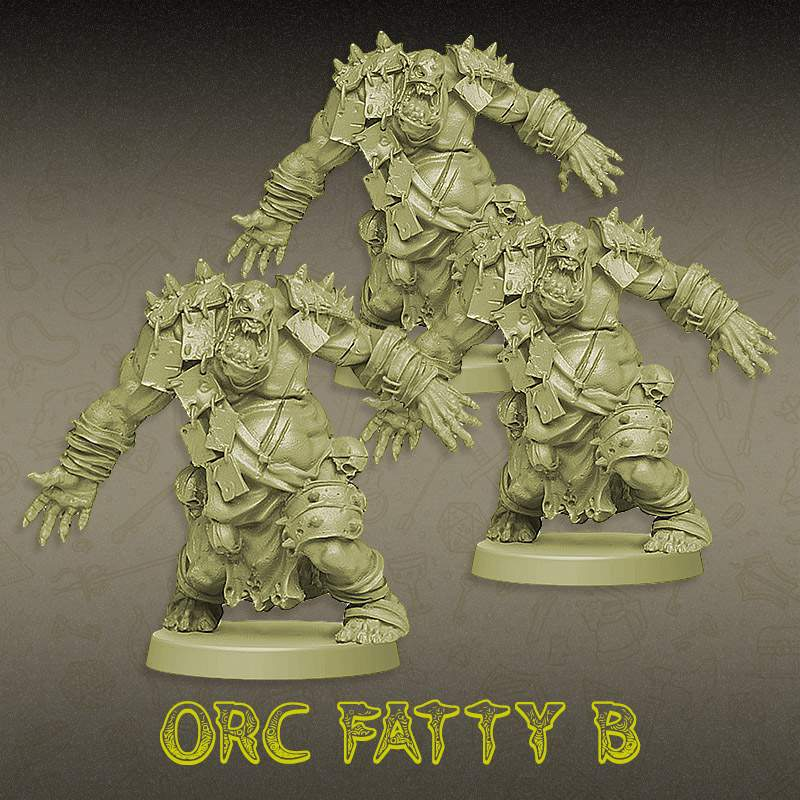 Kit Promocional - Trio Orc Fatty B