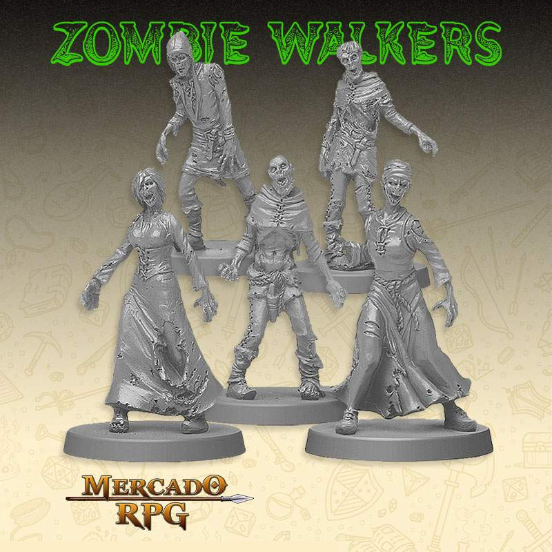 Kit Promocional - Zombie Walker's