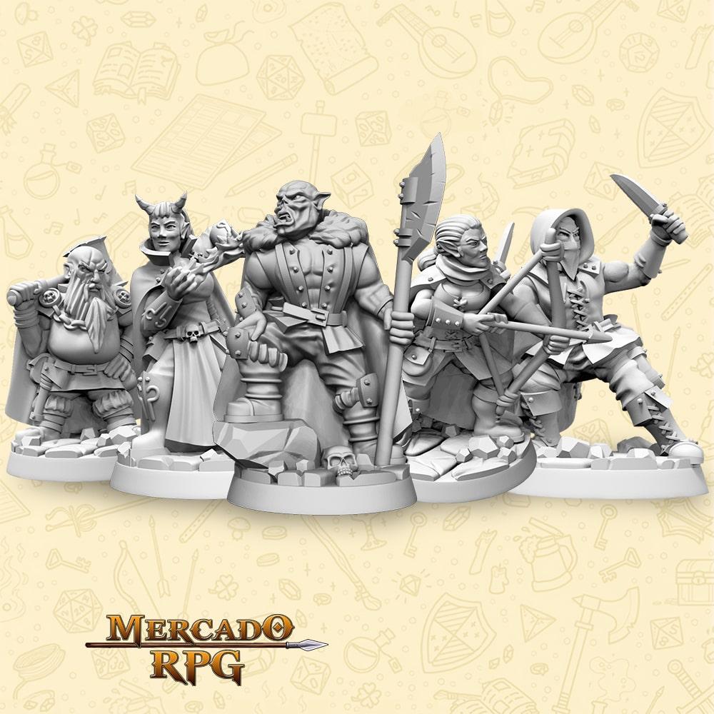 Kit Thieves Guild - Miniaturas para RPG