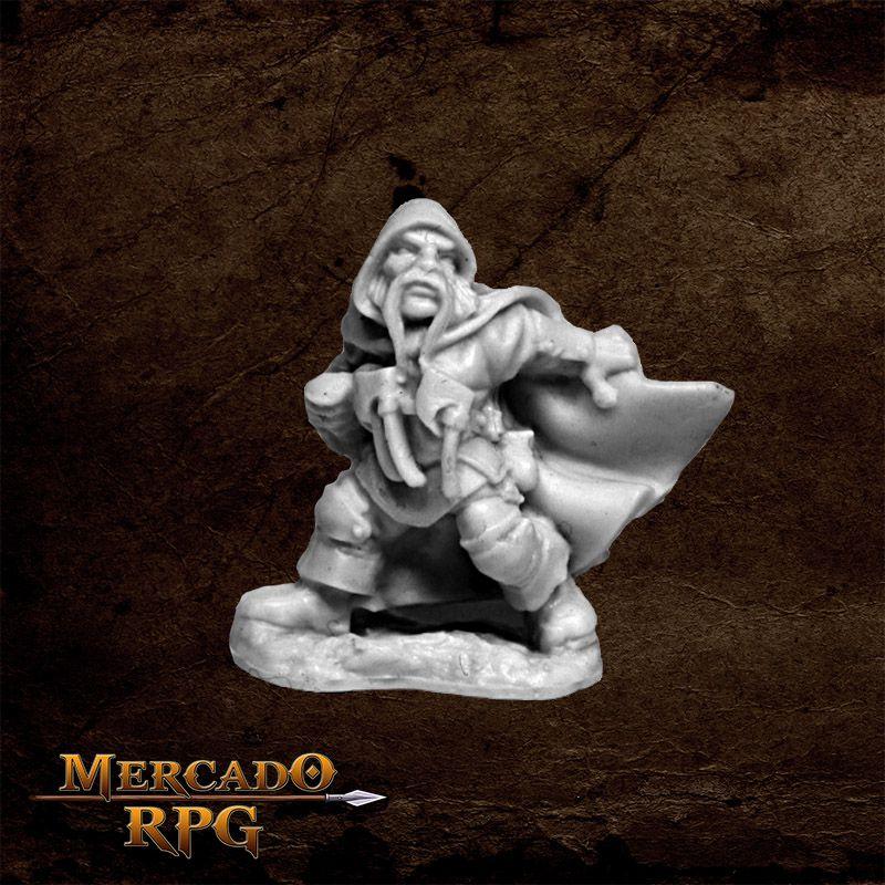 Klaus Copperthumb, Dwarf Thief   - Mercado RPG