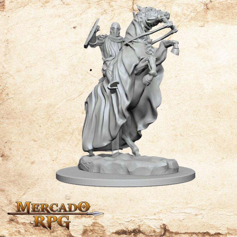 Knight on Horse - Miniatura RPG  - Mercado RPG