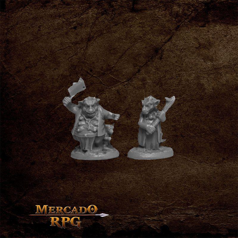 Kobold Mooks B - Miniatura RPG  - Mercado RPG