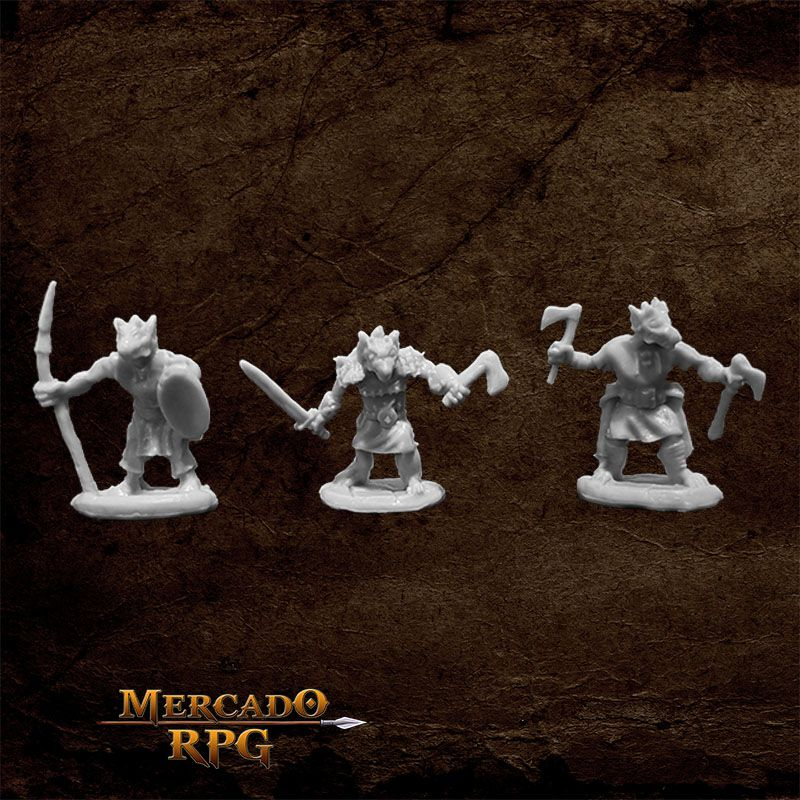 Kobolds (3) A - Miniatura RPG  - Mercado RPG