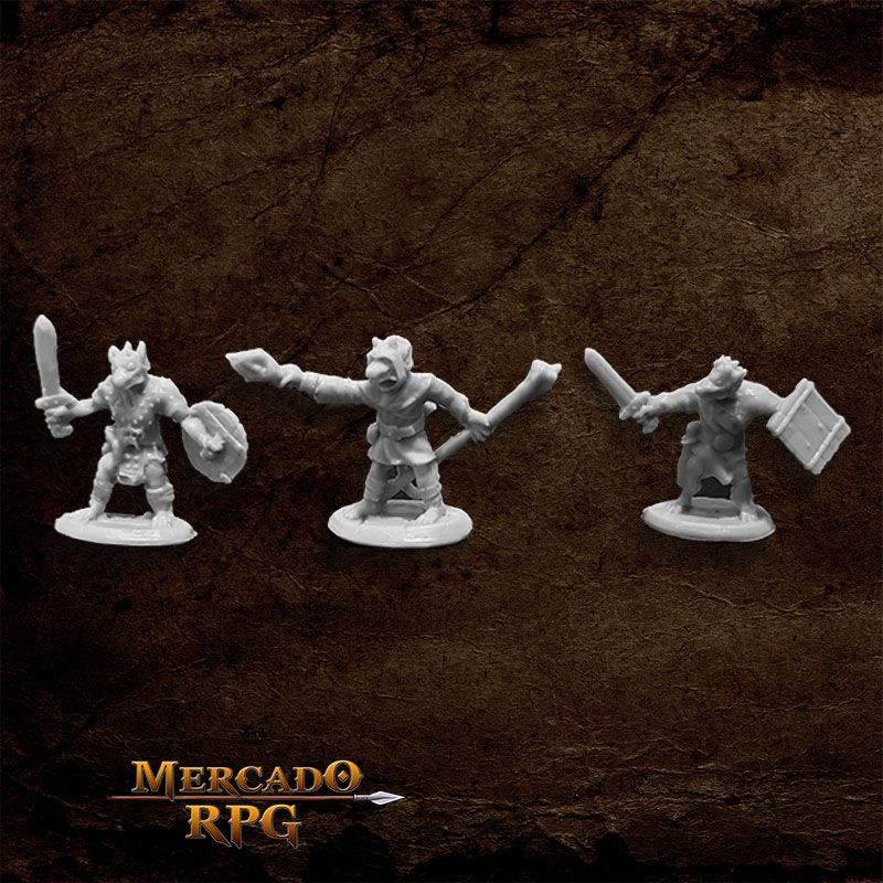 Kobolds (3) B - Miniatura RPG