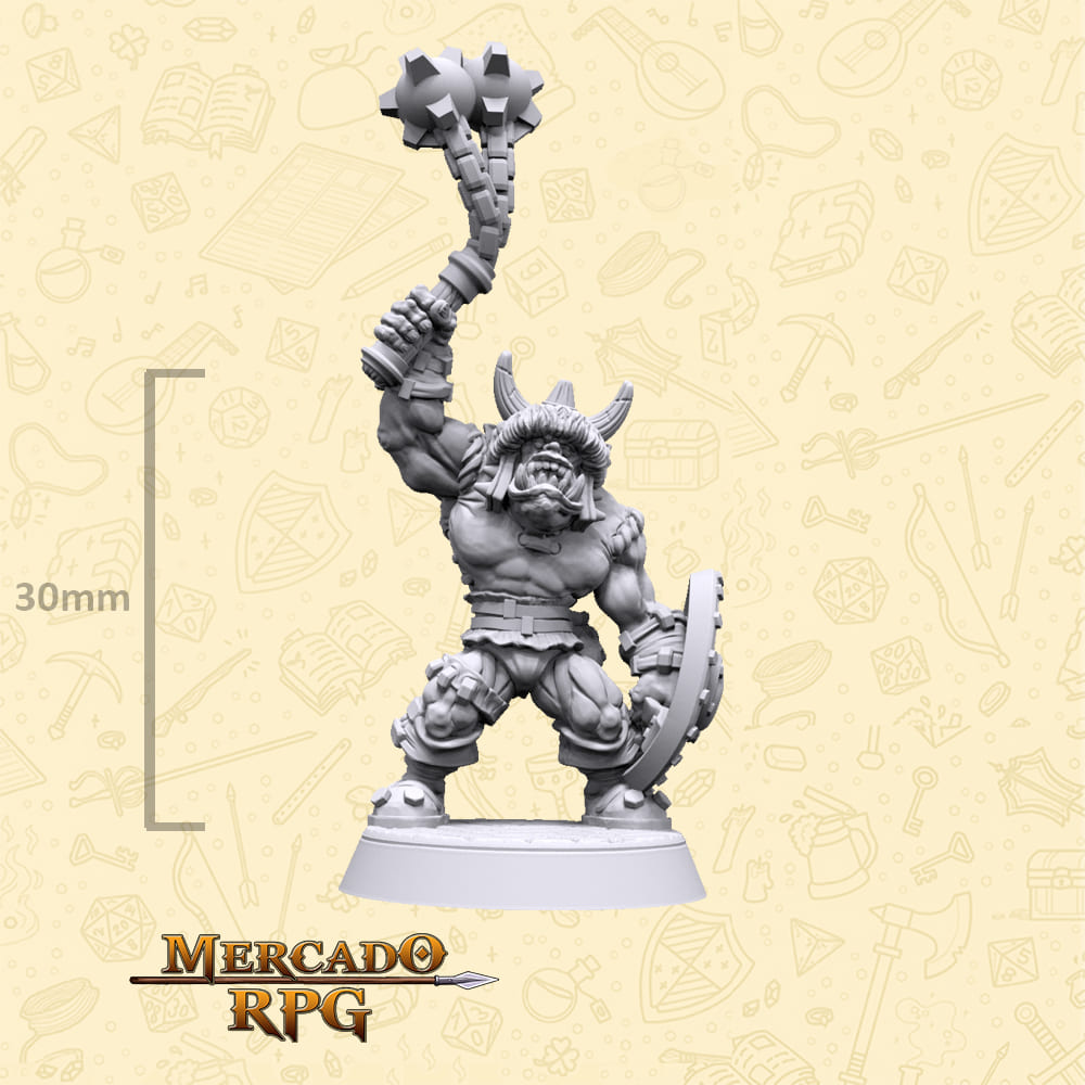 Korgul Orc Soldier - Miniatura - RPG