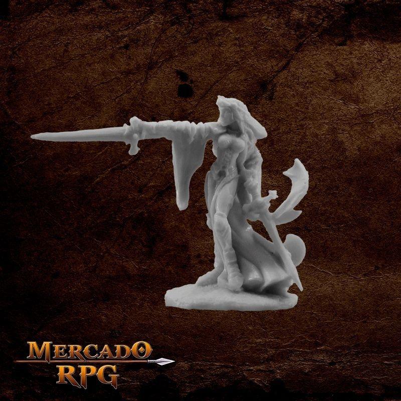 Kristianna, Crusaders Warlord - Miniatura RPG  - Mercado RPG
