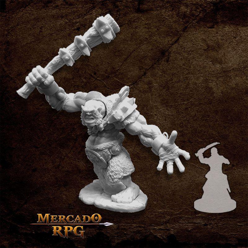 Krug, Hill Giant - Miniatura RPG  - Mercado RPG