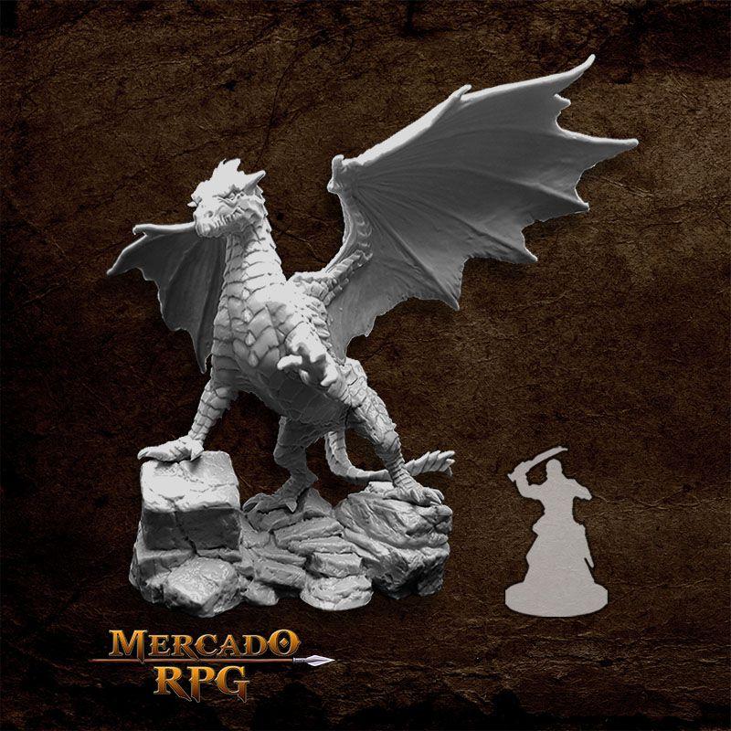 Kyphrixis, The Copper Dragon - Miniatura RPG  - Mercado RPG