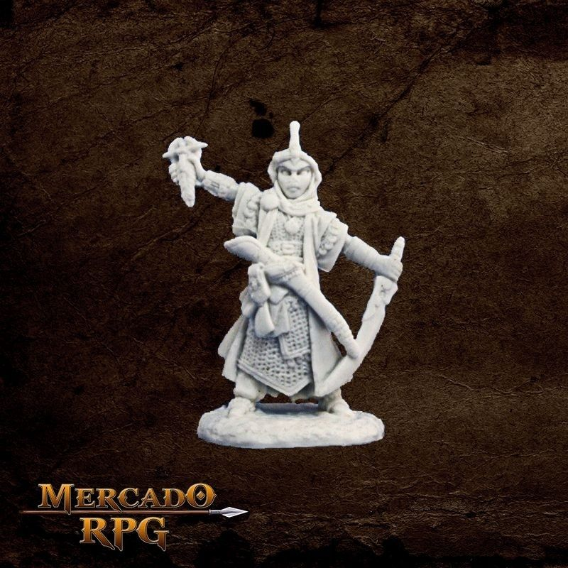 Kyra, Iconic Cleric  - Mercado RPG