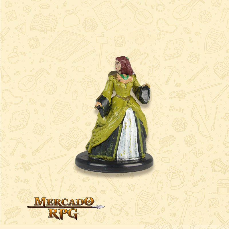 Lady Ammalia Cassalanter - Miniatura RPG  - Mercado RPG