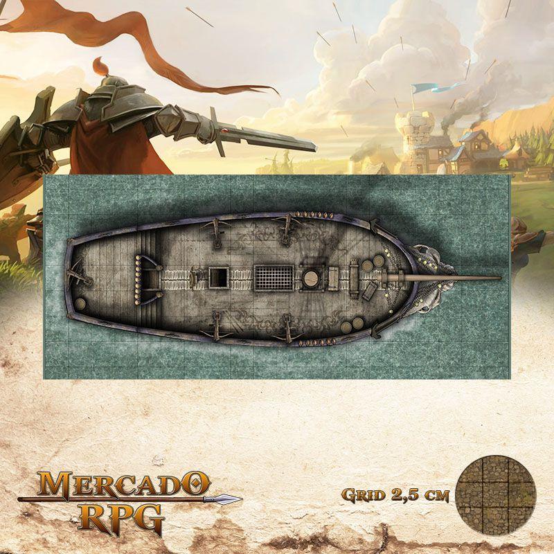 Lamento Banshee Externo 20x50 Grid de Batalha - RPG Battle Grid D&D