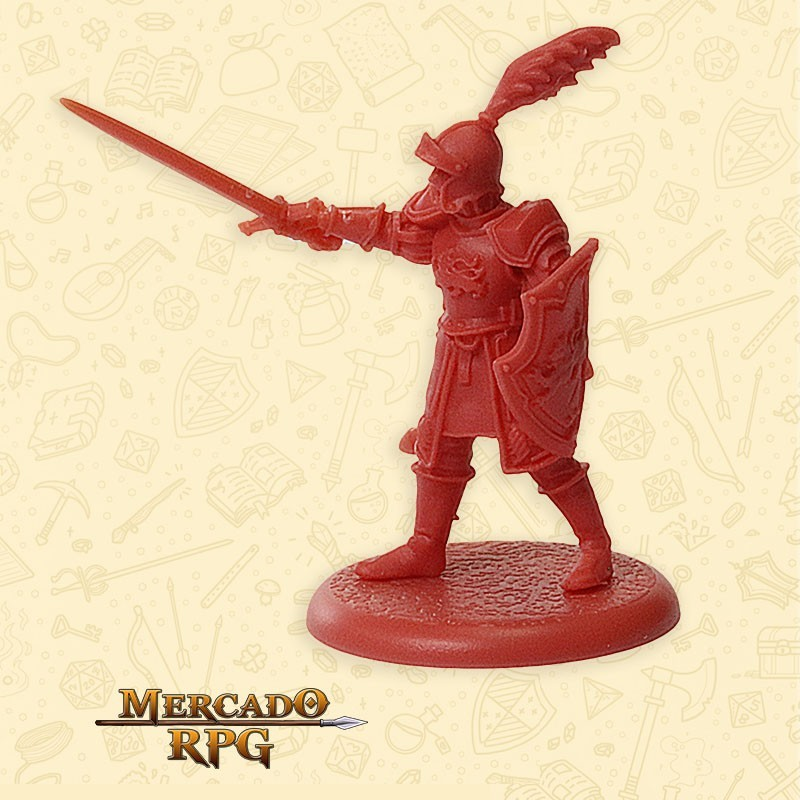 Lannister Guard Captain - Miniatura RPG  - Mercado RPG