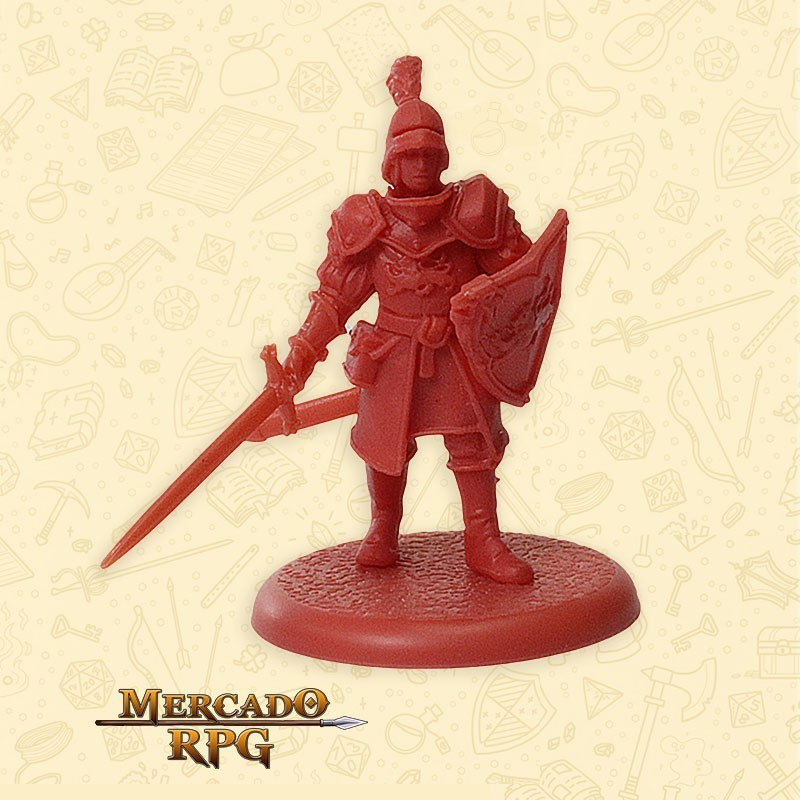 Lannister Guardsmen D - Song of Ice and Fire - Miniatura RPG
