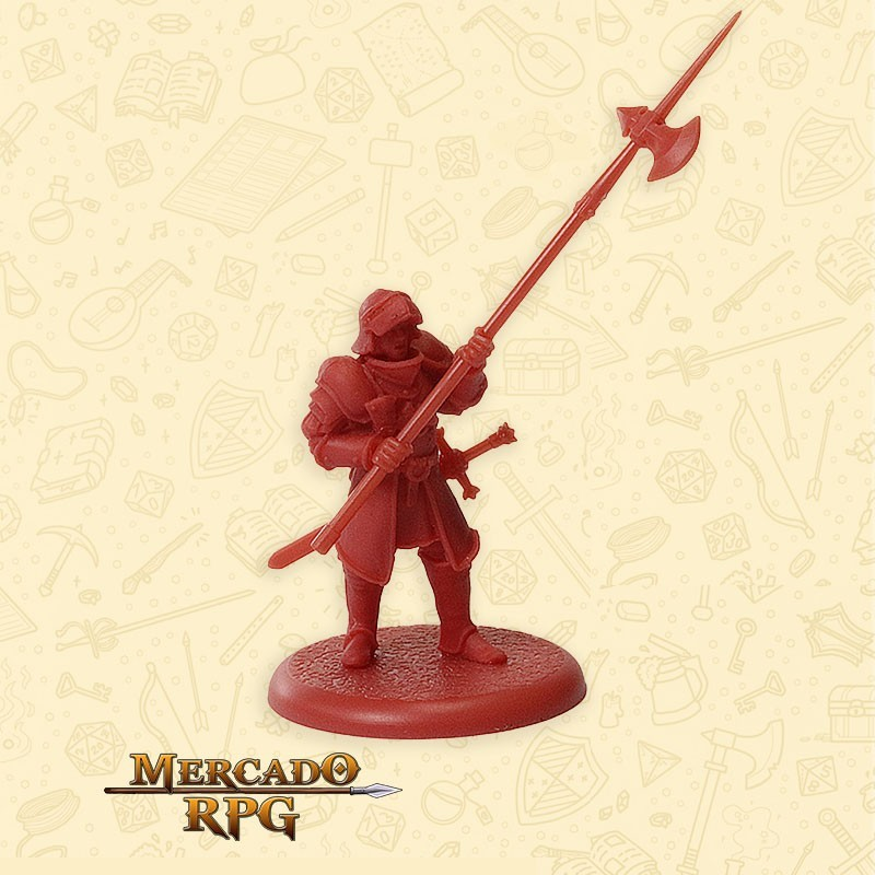 Lannister Halberdiers C - Song of Ice and Fire - Miniatura RPG