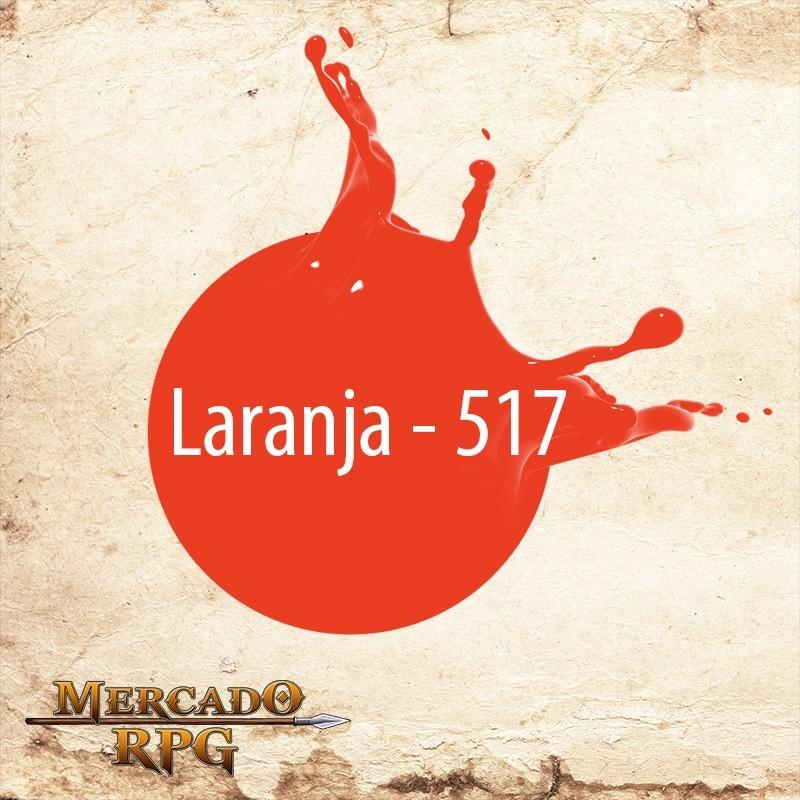 Laranja 517 - Tinta Acrílica Fosca Nature Colors 60ml - Acrilex - RPG