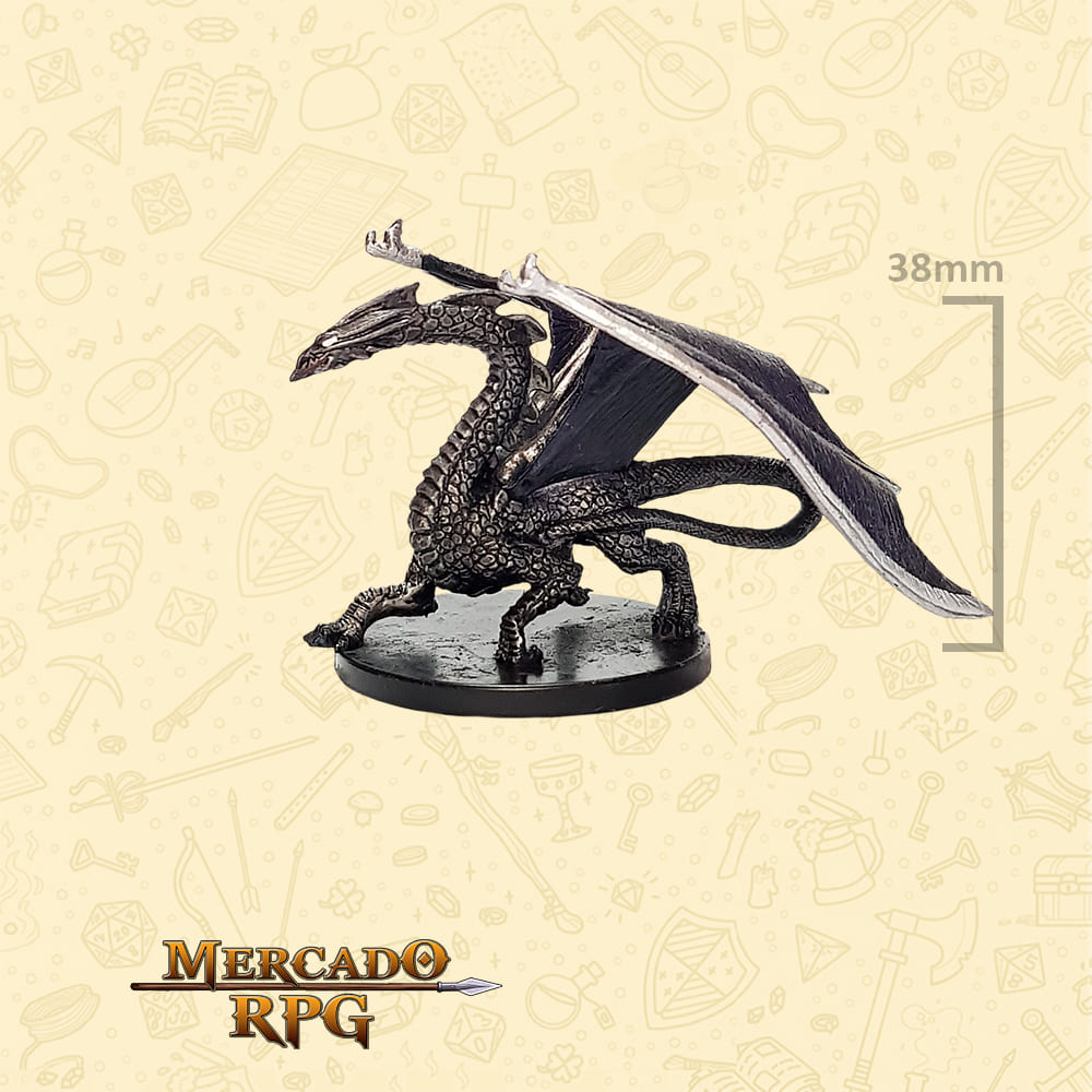 Large Deep Dragon - Miniatura D&D - RPG
