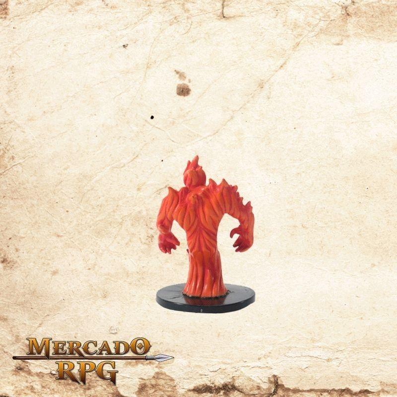 Large Fire Elemental - Com carta  - Mercado RPG