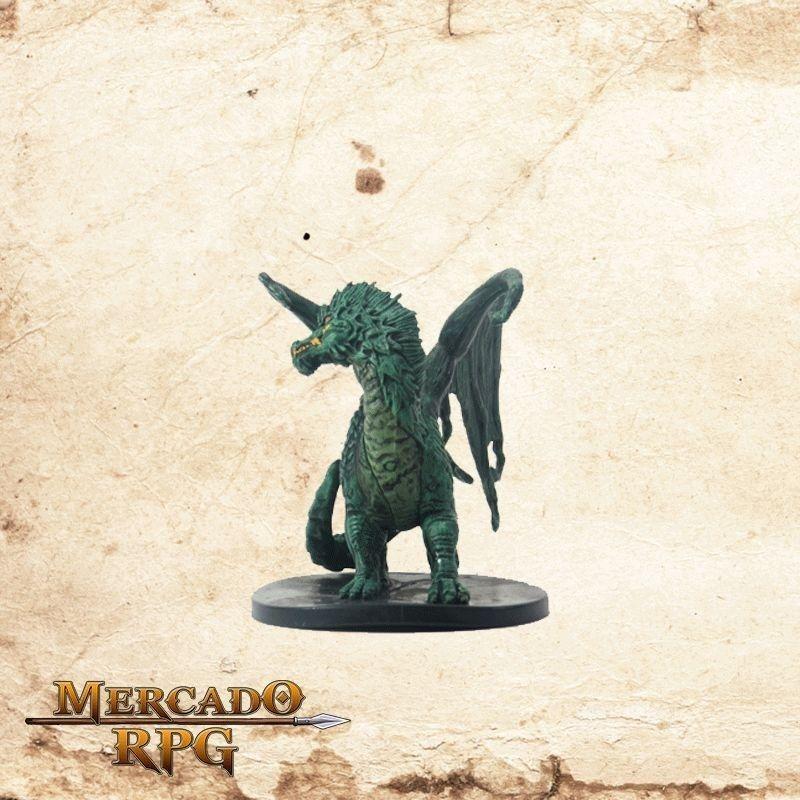 Large Green Dragon - Com carta  - Mercado RPG