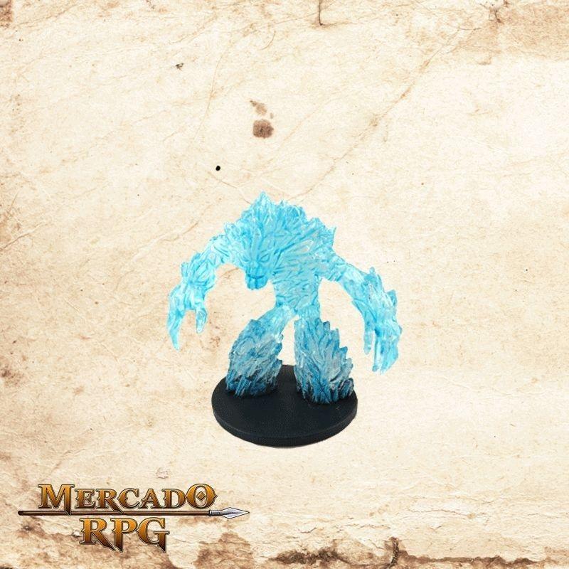 Large Ice Elemental - Com carta  - Mercado RPG