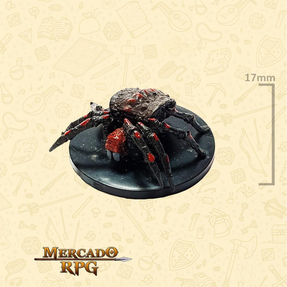 Large Monstrous Spider - Miniatura D&D - RPG